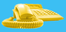yellow telephone